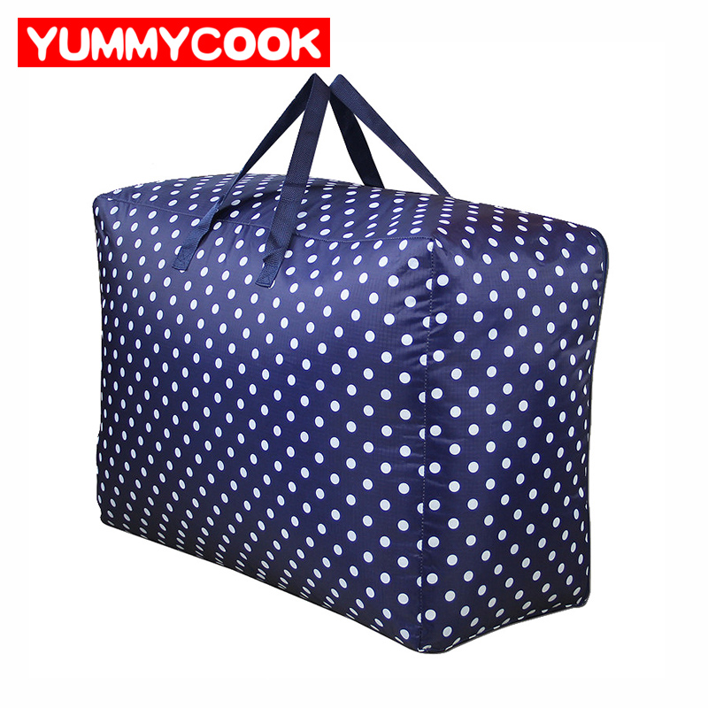 Large Storage Bag Home Organization For Comforter Clothes Bedding Wardrobe Collation Bags Accessories Supplies Stuff Products