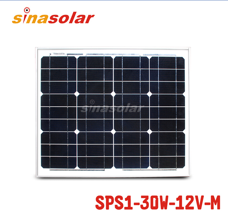 цена на 30W 12V Monocrystalline Solar Panel Module