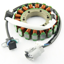 цена на Motorcycle Ignition Magneto Stator Coil for SUZUKI LT-A400 KingQuad 400 4WD 2WD 32101-27H00 Magneto Engine Stator Generator Coil