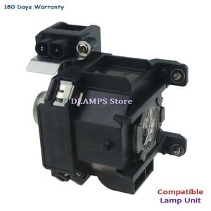 Image 5 - החלפת EMP 1700 EMP 1705 EMP 1707 EMP1710 1715/1717 EX100 1700c 1705c מקרן הנורה עם דיור V13H010L38 עבור EPSON