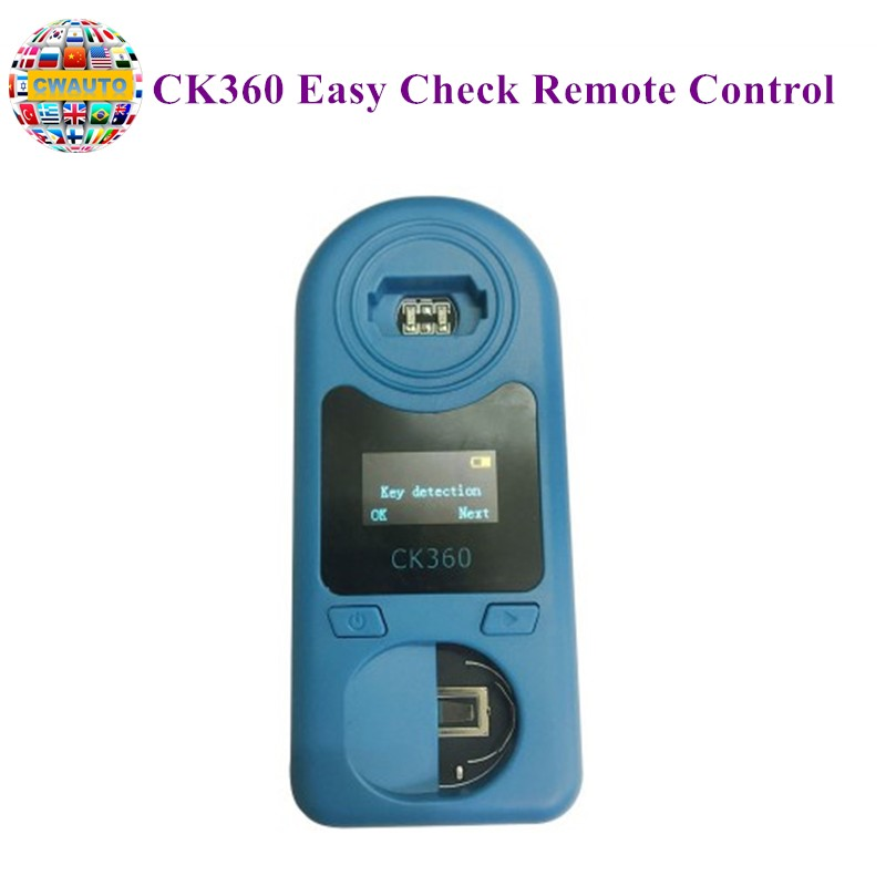 2019 New CK360 Easy Check Remote Control Remote Key Tester for Frequency 315Mhz 868Mhz Key Chip