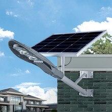 60 Вт Солнечный уличный светильник Солнечная энергия лампа водонепроницаемый домашний двор открытый светильник ing светодиодный садовый светильник на солнечной батарее дорожка настенный светильник
