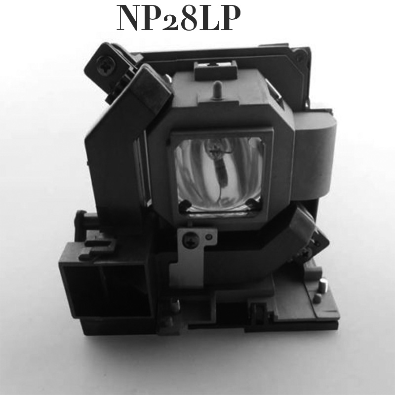 Free shipping Replacement Projector Lamp With housing  NP28LP For NEC M302WS/M322W/M322X Projector nec m322w