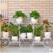 купить Multilayer shelf floor money plant bracketplant showy balcony sitting room indoor jardiniere по цене 5217.01 рублей