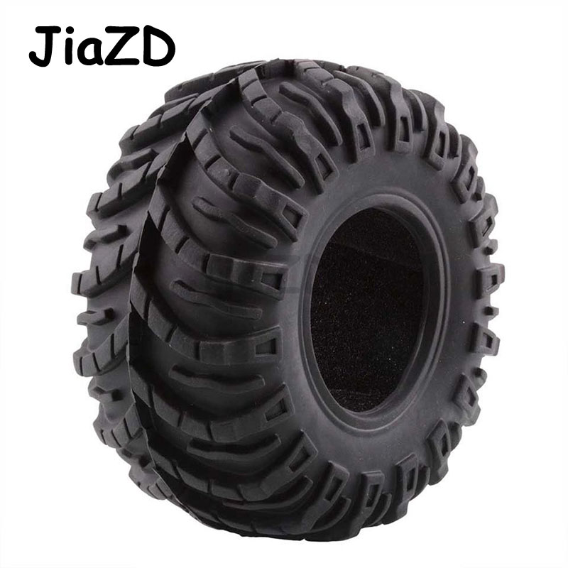 4PCS 1/10 <font><b>Rc</b></font> <font><b>Crawler</b></font> <font><b>2.2</b></font> <font><b>tire</b></font> 125MM set with foam for <font><b>RC</b></font> Model Cars SCX10 AX10 Wraith M3 image
