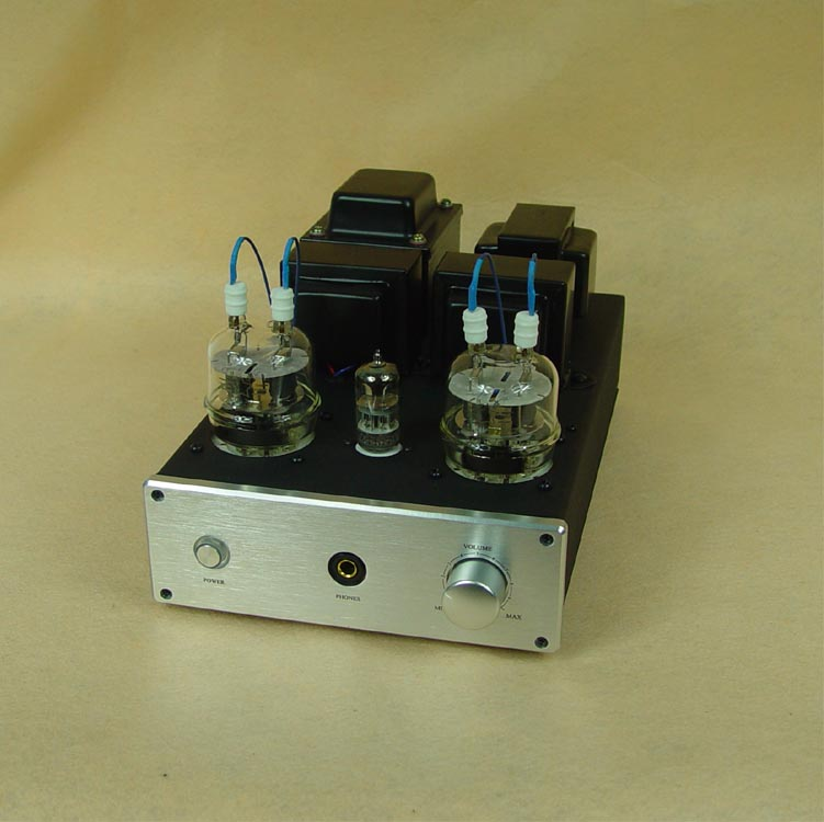Music hall Latest 6N2+FU32 Class A Single-ended Vacuum Tube Amplifier & HiFi Headphone Amp 4W*2 music hall latest appj assembled fu32 tube amplifier audio single ended class a power amp board hifi diyer free shipping