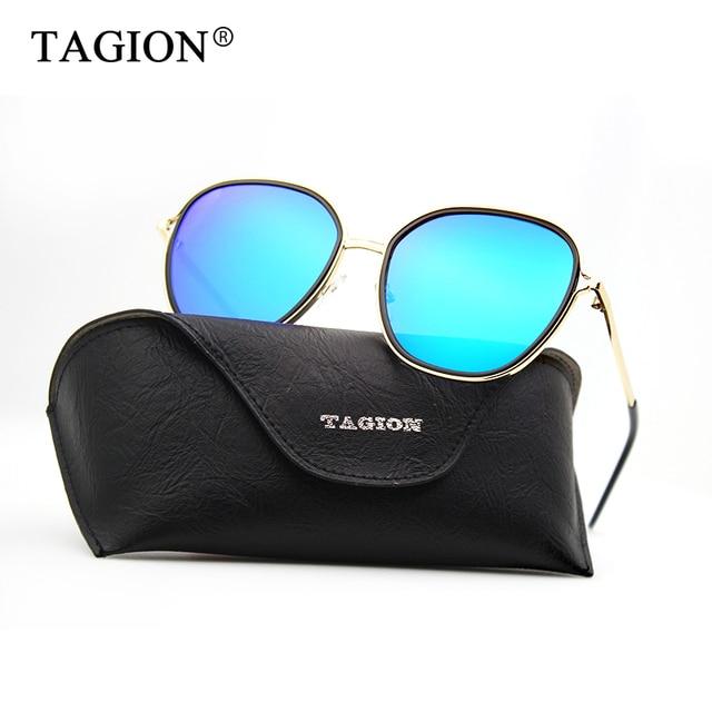 1de0aa3d1d TAGION 2018 Square Sunglasses Women Retro Brand Designer Colorful Glasses  Beach Eyewear Alloy Frame Sun Glasses 3057