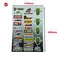 New motocross sticker MOTO GP motorcycle ATV racing decals helmets car Formula 1 sticker
