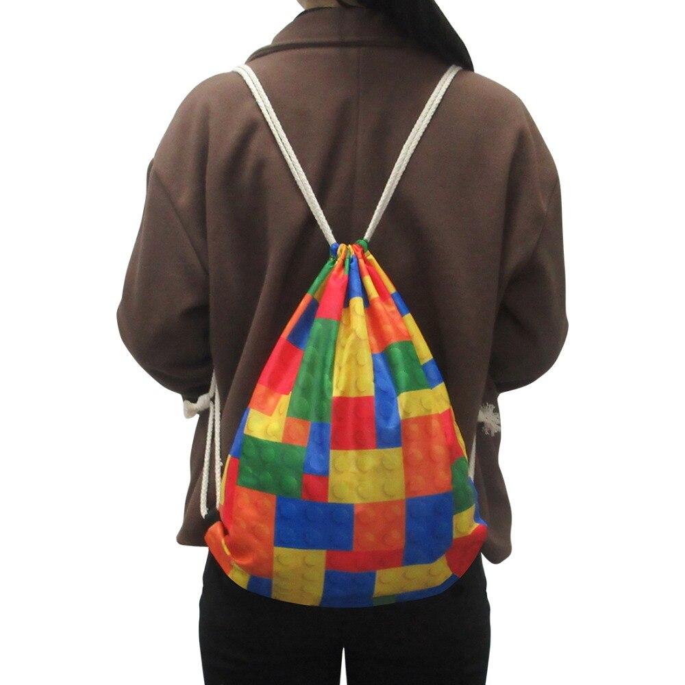 sacos de cordão de viagem grande capacidade