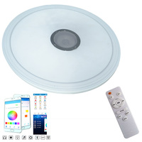 Modern LED Ceiling Light RGB Dimmable 36W APP Remote Bluetooth Music Light Living Room Baby Bedroom Ceiling Light AC85 265V