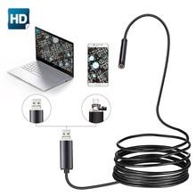 7 مللي متر 2 في 1 منظار مزوّد بمنافذ USB 480P HD ثعبان أنبوب و أندرويد Borescope USB المنظار التفتيش كاميرا دقيقة للكمبيوتر هاتف ذكي
