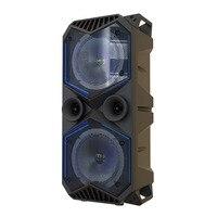 Большой мощности Bluetooth динамик беспроводной стерео сабвуфер тяжелый бас динамик s музыкальный плеер Поддержка ЖК дисплей fm радио TF fm радио