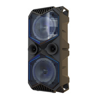 Big Power Bluetooth Speaker Wireless Stereo Subwoofer Heavy Bass Speakers Music Player Support LCD Display FM Radio TF FM Radio