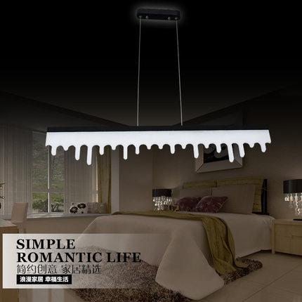creativo agua tira tipo droplight moderno led colgante de accesorios de luz oficina estudio comedor lmpara