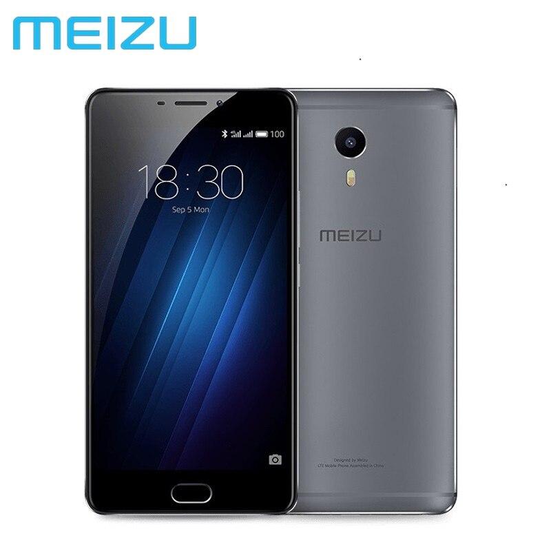 """Цена за Оригинальный meizu m3 макс 3 ГБ 64 ГБ mtk helio p10 окта основные android 4 г lte 6.0 """"1080 P 13.0 МП Камера ОТА Глобальной прошивки S685Q"""