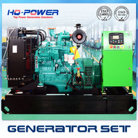 China Huaquan Produce 30kw Electricity Generator Powered By Famous Engine