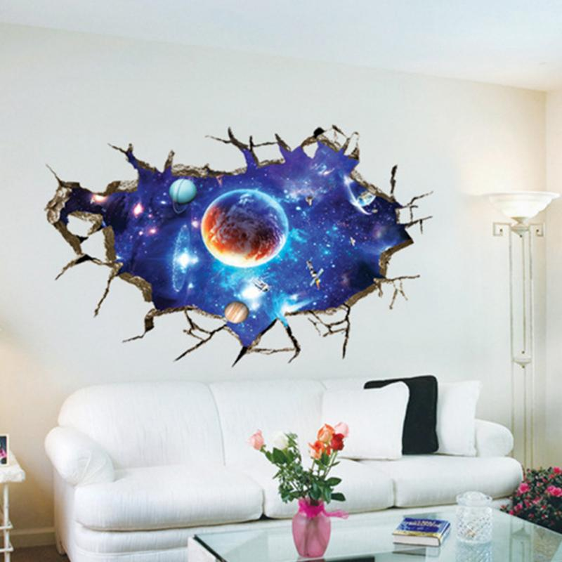 3D Universe Space Starry Sky Kids Boys Bedroom Wall Stickers Art Vinyl  Decal Room Ceiling Decoration. Starry room online shopping the world largest starry room retail