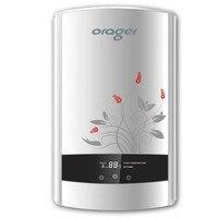8500 Вт Душ Электрический нагреватель с цифровой светодиодный userinterface для ванной Кухня раковины крана мгновенная течет Горячая водоснабжени