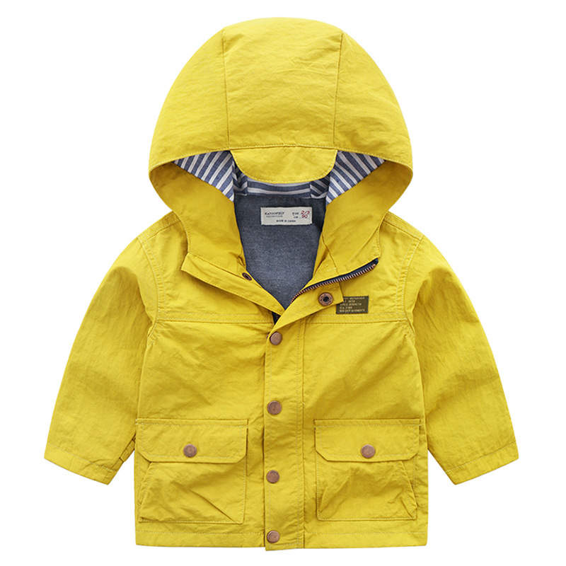 c78b02cf4a15 Fashion boys clothes jacket coat autumn zipper jacket for baby kids ...
