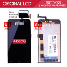 Original Black 4.5inch 845×480 Display For ASUS Zenfone 4.5 A450CG LCD with Touch Screen Digitizer Assembly