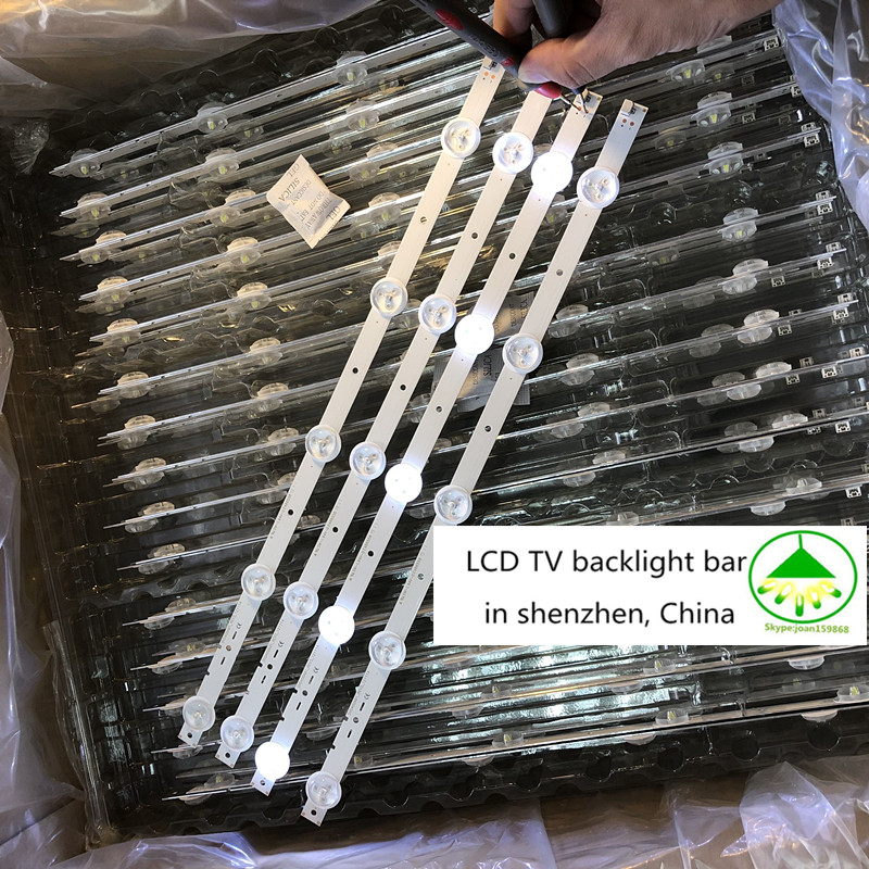 10 PCS/set 100% New Good Quality  LED Backlight Bar SVG400A81_REV3_121114 395mm 5 LEDs For KLV-40R470A KDL-40R450A