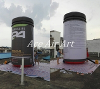 Customized 5m H Inflatable Product Replica Can for Advertising