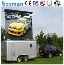 Leeman P5 p8 p10 мобильный / трейлер реклама p8 открытый из светодиодов дисплей / из светодиодов экран / из светодиодов s