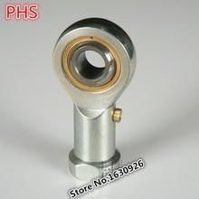 4 шт. Бесплатная доставка PHS12 12 мм встраиваемые правой рукой концы стержня с внутренней резьбой Сферический плоский подшипник