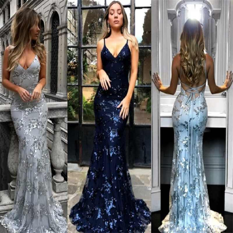 1291bda71b Detail Feedback Questions about 2018 Summer Lace Dress women Deep V ...