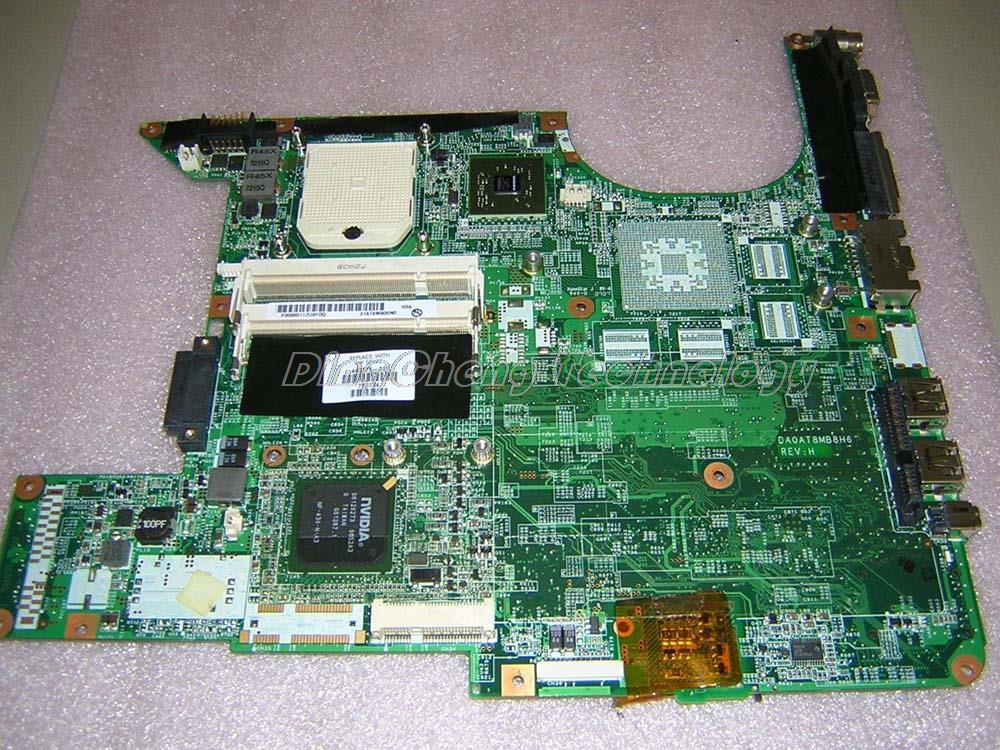 Original laptop Motherboard For hp DV6000 443775-001 for AMD cpu with integrated graphics card DDR2 100% tested fully лоферы just couture just couture ju663awqqy55