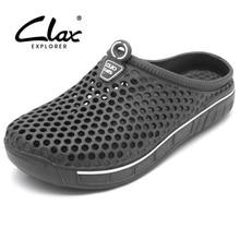Купить с кэшбэком Garden clog shoes for men women Qiuck drying 2016 summer beach slipper flat breathable