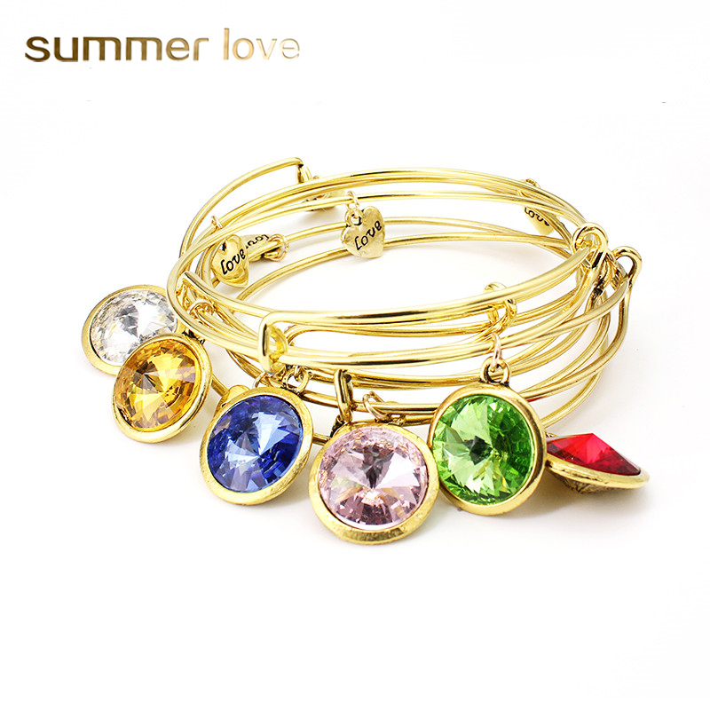 Fashion 12 Birthstone შარმი
