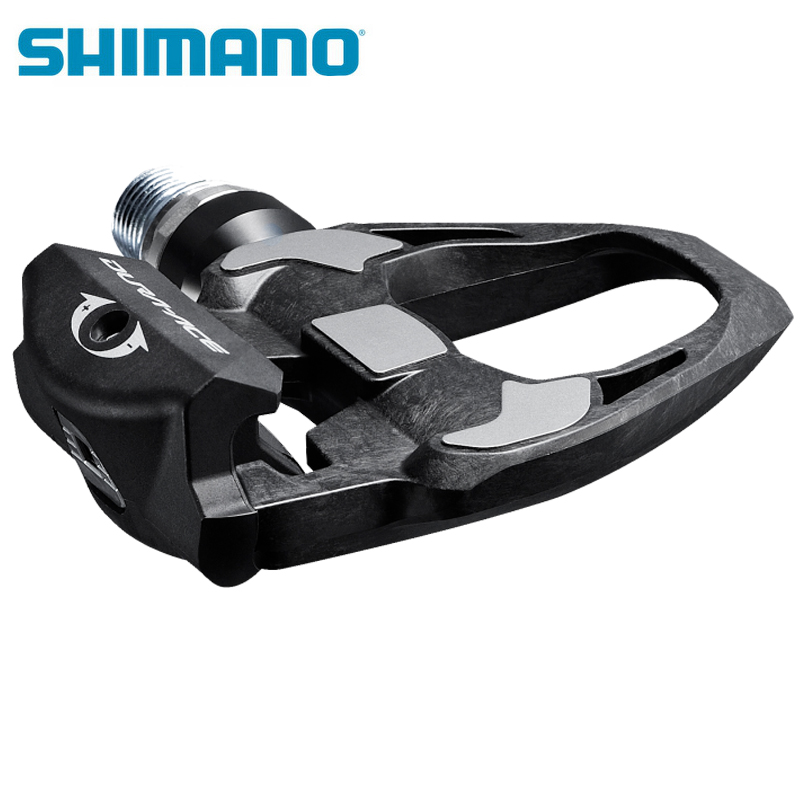 SHIMANO Professional Road Bike Pedals Dura-Ace PD-R9100 Carbon Lightweight Road Bicycle Self-Locking SPD Cycling Pedals west biking cycling pedals fixed gear mtb bmx bicycle pedals 9 16 foot pegs outdoor sports dhcrank mtb road bike cycling pedals