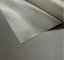 108cm width nickel copper conductive emi shielding bag fabric for blocking phone signals