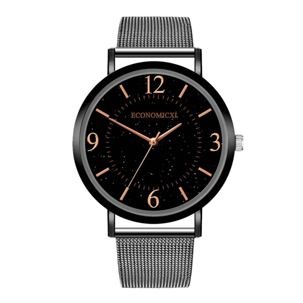 Nouvelle montre de mode femmes de luxe maille en acier inoxydable ceinture décontracté dames montre-bracelet Relogio Feminino cadeau robe de haute qualité/AA5