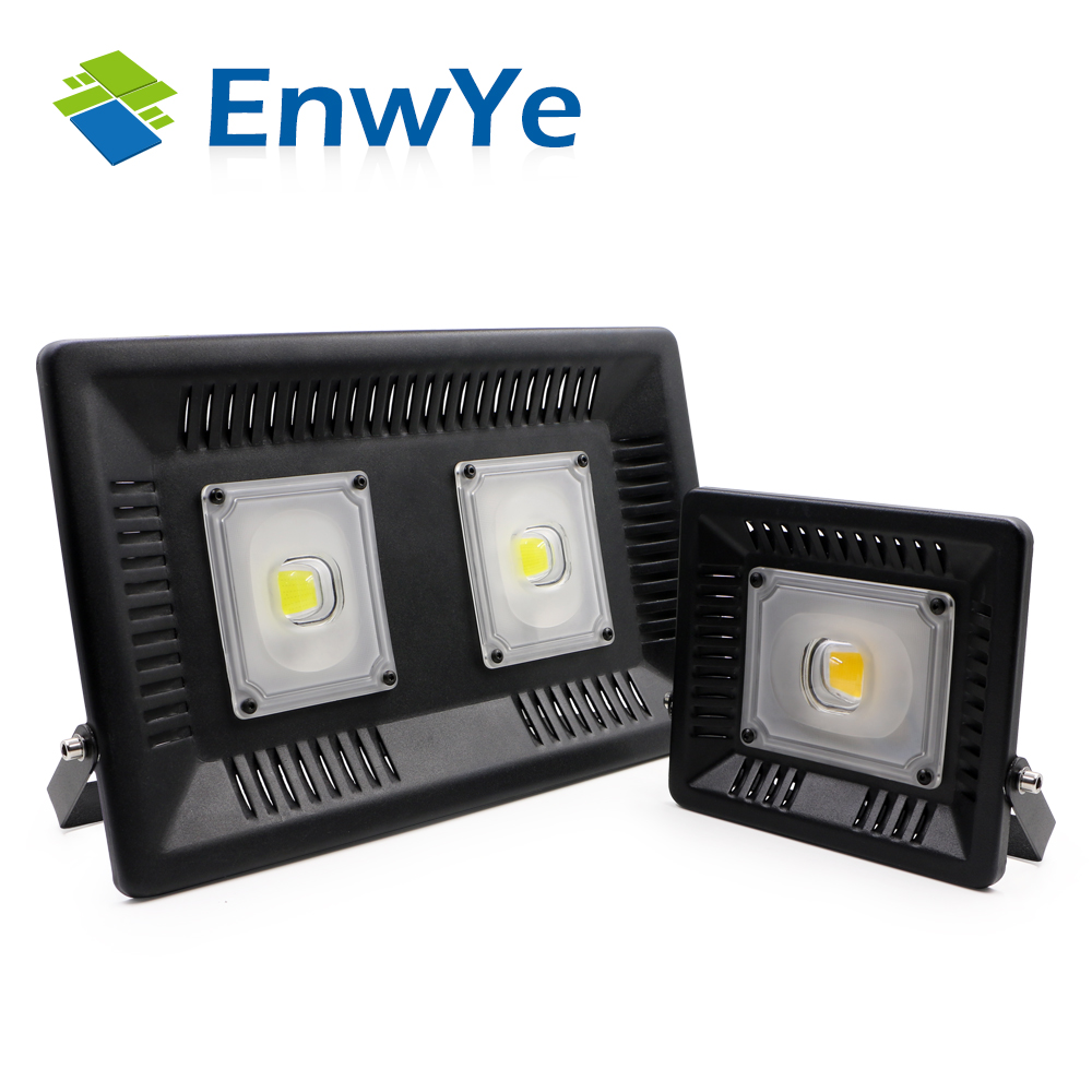 100 50W 100W perfect power LED Flood Light Floodlight LED street Lamp 220V waterproof Landscape Lighting