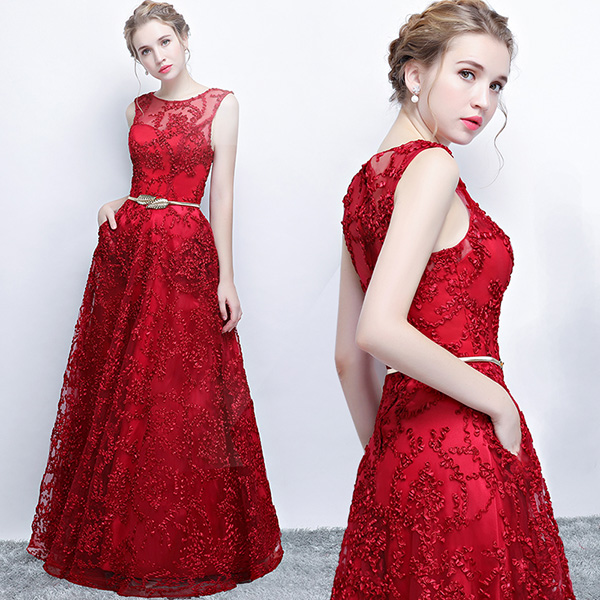 Red with Belt