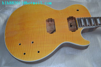 free shipping new Big John unfinished electric guitar in yellow F 1361