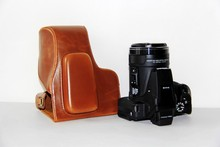 Free Shipping High Quality PU Leather Camera Case Bag Cover for Nikon Coolpix P900s P900 digital camera Black