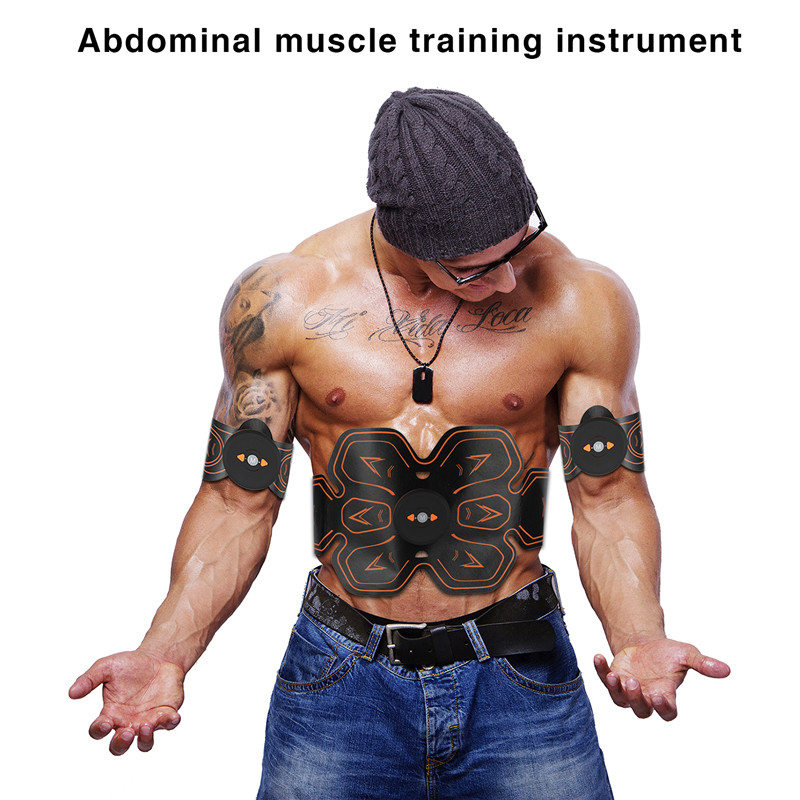 цена на Stimulation Belt Smart Fitness Muscle Stimulator Abdominal for Training Apparatus Electric Muscle Belly Exercises Gym Equipment