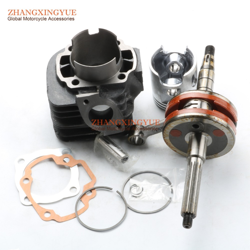 54mm big bore kit Cylinder Set &+ 2mm High Performance Crankshaft for Yamaha JOG90 4DM Polaris 90 Hurricane 90 Scooter high quality carburetor for yamaha 4dm zuma bws50 bws100 jog50 jog90 4vp e4101 30 00