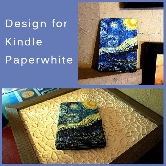 Kandouren Van Goghstarry Nightcase Cover For Amazon Kindle