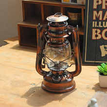Creative Vintage Kerosene Lamp Camping Light Outdoor Tent Emergency Portable Hanging Decoration Figurine