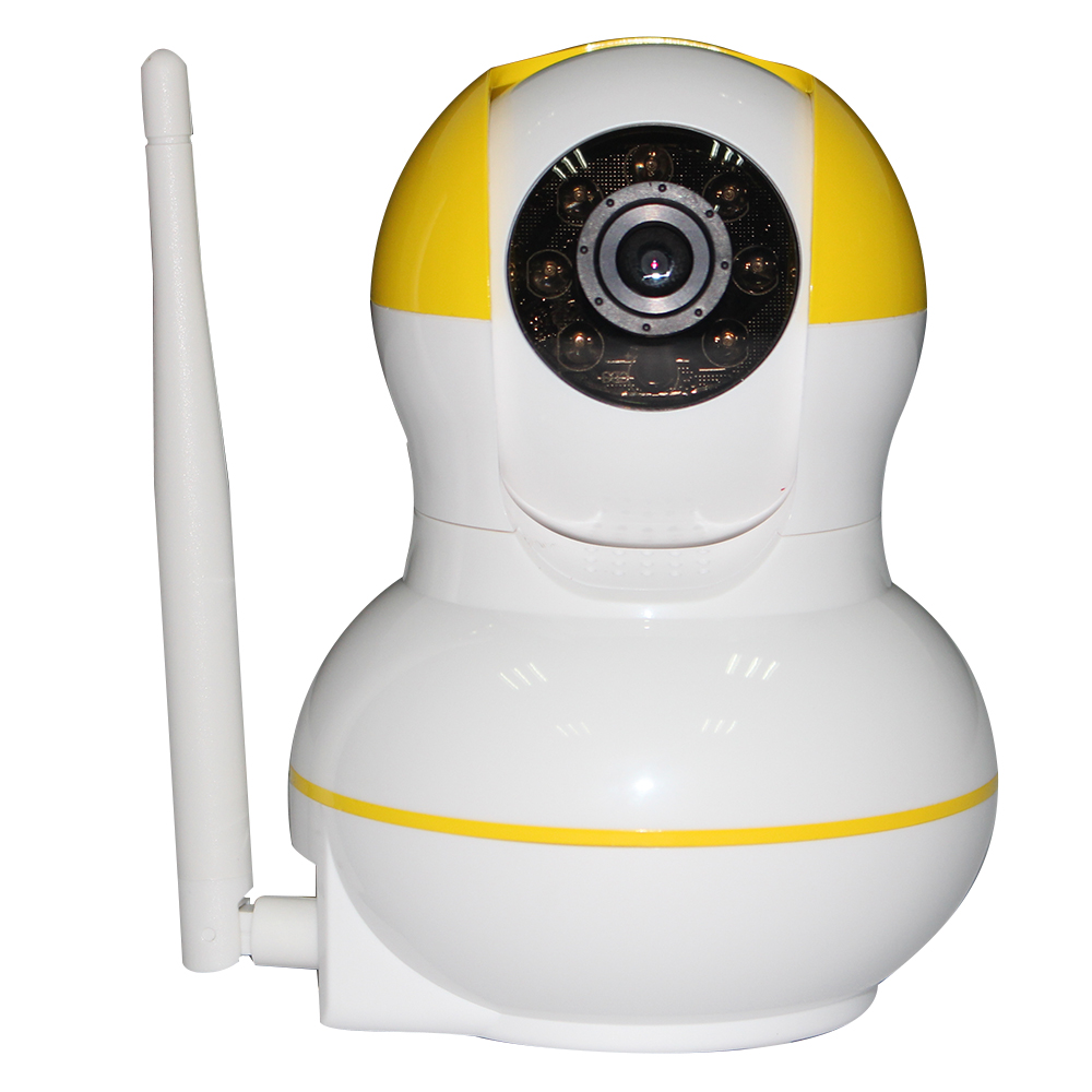 IP Camera 720P HD Wifi Wireless Baby Monitor PTZ Security Camera ONVIF Cloud Night Vision Micro SD Card link WiFi alarm system guudgo gd sc02 720p cloud wifi camera ip camera pan