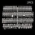 Персонажи для фетровой доски с буквенным принтом  цифры 360 шт. для доски со сменными буквами