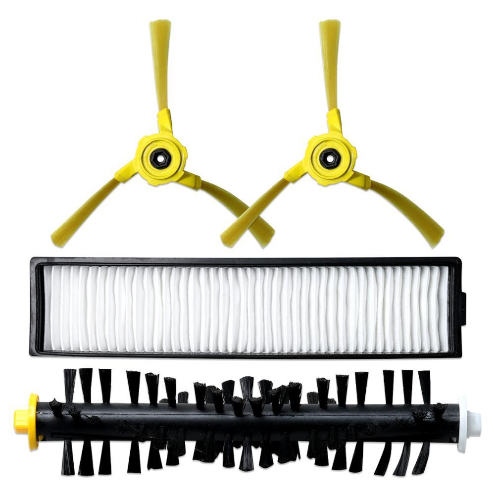 Brosse principale, chiffon de vadrouille, brosse latérale, filtre pour LG Hom Bot VR6270LVM VR65710 VR6260LVM série Robot aspirateur accessoires