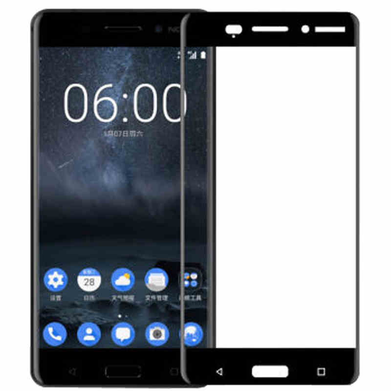 3D Tempered Glass For Nokia 2 3 5 6 7 8 Full Screen Cover Screen Protector Film For Nokia 3.1 5.1 6.1 7.1 Plus X3 X5 X7 2018