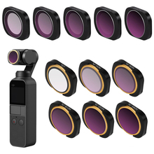 Magnetic LENS Filter DJI OSMO Pocket Accessories for DJI OSMO Pocket Gimbal Camera Lens Filter MCUV CPL ND4 ND8 ND16 ND32 ND64 цена и фото