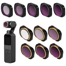 цена на Magnetic LENS Filter DJI OSMO Pocket Accessories for DJI OSMO Pocket Gimbal Camera Lens Filter MCUV CPL ND4 ND8 ND16 ND32 ND64