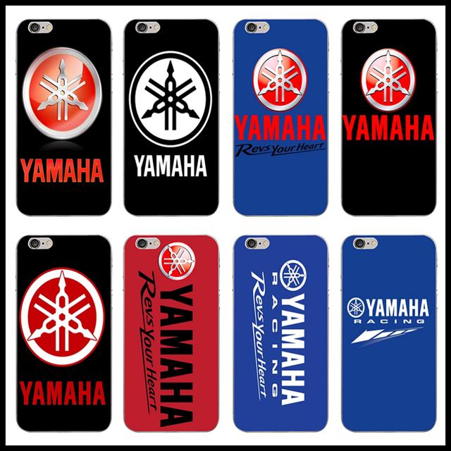 For iphone 6 Case Yamaha Motor Logo Soft Silicone Phone Cases for iPhone 4 4S 5 5S 5C SE 6 6S 6Plus 6S Plus 7 7Plus 8 8Plus X